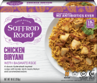 Saffron Road Chicken Biryani Rice Frozen Meal