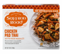 Saffron Road Chicken Pad Thai With Rice Noodle Cuisine