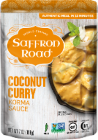 Saffron Road Coconut Curry Korma Simmer Sauce