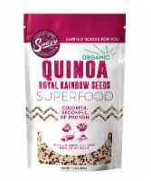Suncore Foods Organic Quinoa Royal Rainbow Seeds