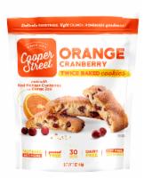 Cooper Street Orange Cranberry Twice Baked Cookies - 5 oz