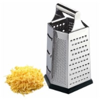 HDS Trading CG10359 Cheese Grater Metal Heavy Weght Stainless Steel - 1
