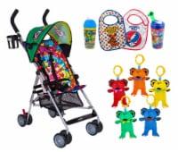 Grateful Dead, Stroller, BPA FREE Toddler Cups, Soft Bibs, Dancing Bears Gift Set by Daphyl's - 1
