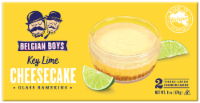Belgian Boys Key Lime Cheesecake