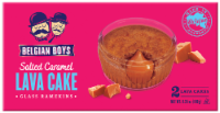 Belgian Boys Salted Caramel Lava Cake