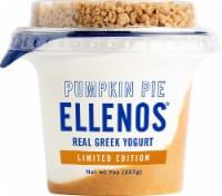 Ellenos Pumpkin Pie Yogurt - 7 oz