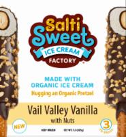 SaltiSweet Vail Valley Vanilla With Nuts Ice Cream Bar - 7.3 fl oz