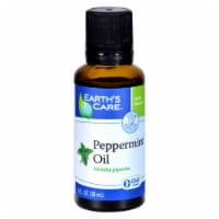 Earth's Care Essential Oil - 100 Percent Pure - Natr - Peppermint - 1 fl oz - Pack of 3 - Case of 3 - 1 FZ each