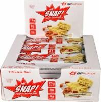 Snap Nutrition  Ooh SNAP!™ Crispy Protein Bar   Caramel Pretzel - 7 Bars