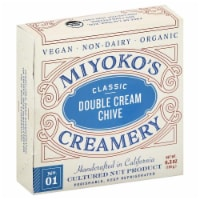 Miyoko's Creamery Non Dairy Double Cream Chive Cheese