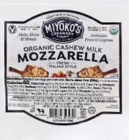 Miyoko's Creamery Fresh Vegan Mozzarela