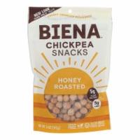 Biena Chickpea Snacks - Honey Roasted - Case of 8 - 5 oz. - Case of 8 - 5 OZ each