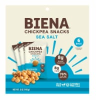 Biena Sea Salt Roasted Chickpea Snacks