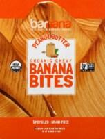 Barnana Organic Gluten Free Chewy Peanut Butter Banana Bites 12 Count