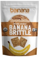Barnana Peanut Butter Brittle, 3.5 Ounce -- 10 per case.