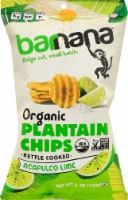 Barnana Organic Ridged Acapulco Lime Plantain Chips
