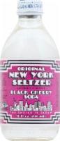 Original New York Seltzer Black Cherry Soda - 10 fl oz