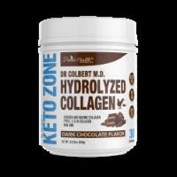 Divine Health Keto Zone Dark Chocolate Flavored Hydrolyzed Collagen Protein Powder