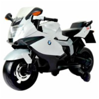 Best Ride On Cars BMW 12V Motorcycle 12V BMW Motorcycle Kids Battery - White - 1