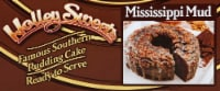 Holley Sweets Mississippi Mud Frozen Pudding Cake