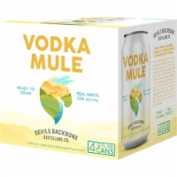 Devils Backbone Brewing Company Vodka Mule Ready to Drink Canned Cocktail