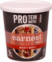 Earnest Eats  Protein Probiotic Oatmeal Cup Gluten Free   Mighty Maple