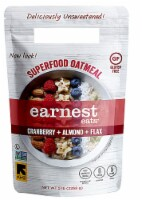 Earnest Eats  Superfood Oatmeal Gluten Free   Cranberry Almond Flax