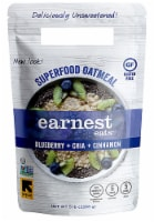 Earnest Eats  Superfood Oatmeal Gluten Free   Blueberry Chia