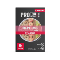 Earnest Eats Apple Crush Protein + Probiotic Instant Oatmeal
