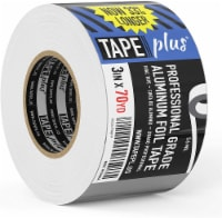 Professional Grade Aluminum Foil Tape - 3 Inch by 210 Feet (70 Yards) - Perfect for HVAC - 1pcs