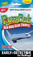 BuggyBeds Bed Bug Travel Glue Traps - 4 pk
