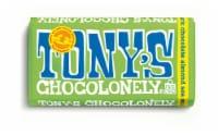 Tony's Chocolonely Almond Sea Salt Dark Chocolate Bar - 6 oz