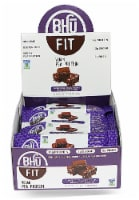 BHU  Fit Vegan Pea Protein Bar   Superfood Chocolate Chip+Fudge Brownie Batter