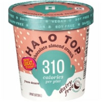 Halo Top Dairy-Free & Soy-Free Vegan Chocolate Almond Crunch Frozen Dessert