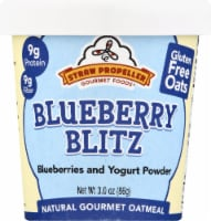 Straw Propeller Blueberry Blitz Oatmeal