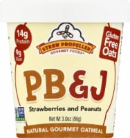 Straw Propeller PB&J Oatmeal