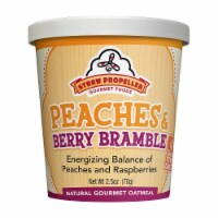 Straw Propeller Peach & Raspberry Oatmeal