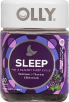 Olly Sleep Blackberry Zen Gummies