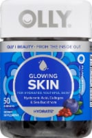 Olly Glowing Skin Hyaluronic Acid Collagen & Sea Buckthorn Gummies