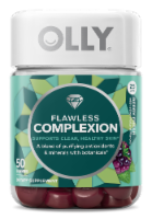 Olly Flawless Complexion Berry Fresh Dietary Supplement Gummies