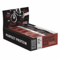 Exo Chocolate Fudge Brownie Cricket Protein Bar