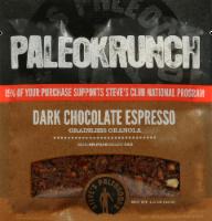 Steves PaleoKrunch Dark Chocolate Espresso Bar
