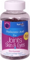 Hyalogic Joints Skin & Eyes Berry Hyaluronic Acid Gummies