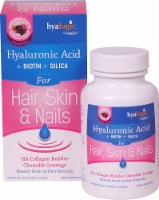 Hyalogic Hair Skin & Nails Mixed Berry Hyaluronic Acid Chewable Lozenge