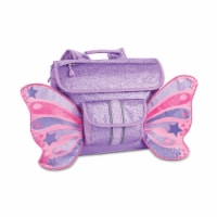 Bixbee Small Sparkalicious Butterflyer Backpack - Purple