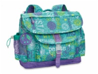 Bixbee Large Hope Peace Love Backpack