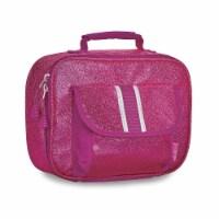 Bixbee Sparkalicious Lunchbox - Ruby Raspberry