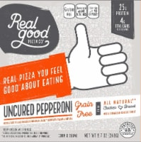 The Real Good Food Company Uncured Pepperoni Pizza