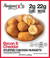 The Real Good Food Company Bacon & Cheddar Stuffed Chicken Nuggets