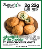 The Real Good Food Company Chicken & Parmesan Poppers Stuffed with a Creamy Jalapeno White Cheddar
